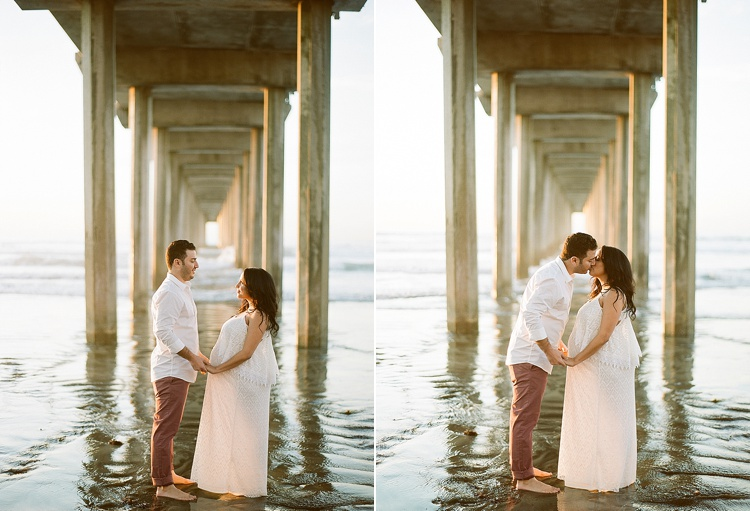 San Diego Beach Maternity Session by Acres of Hope Photography
