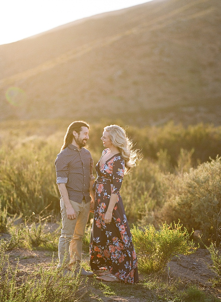 Film Engagement Session by Acres of Hope Photography