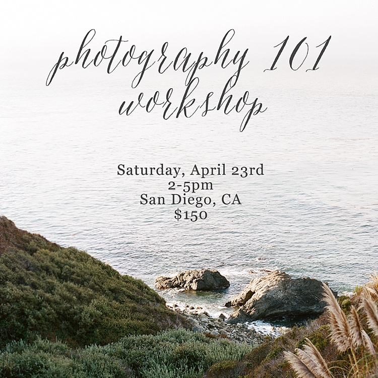 Beginner DSLR Photography Workshop by Acres of Hope Photography