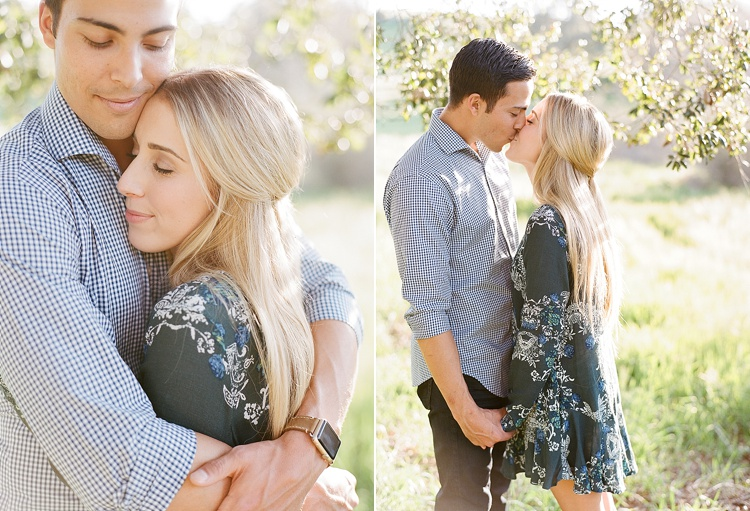 Romantic Springtime Engagement Session by Acres of Hope Photography